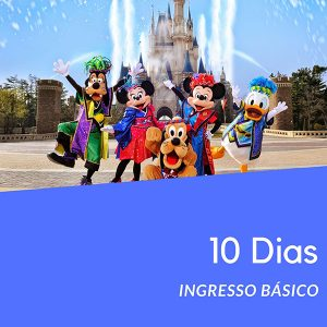 Ingresso Disney 10 Dias