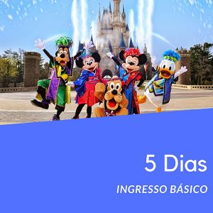 Ingresso Disney 5 Dias