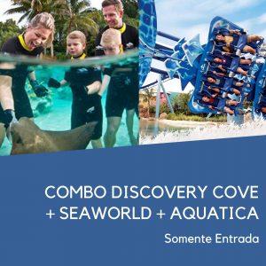 Discovery Cove Sea World Combo 1